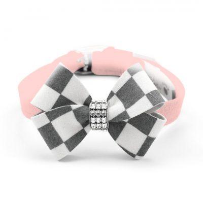 Windsor Check Nouveau Bow Collar