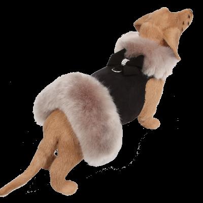 Soft Silver Fox Fur Coat