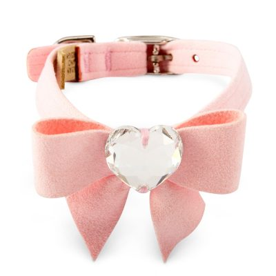 Tail Bow Heart Collar