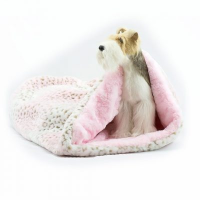 Pink Lynx with Puppy Pink Shag Cuddle Cup