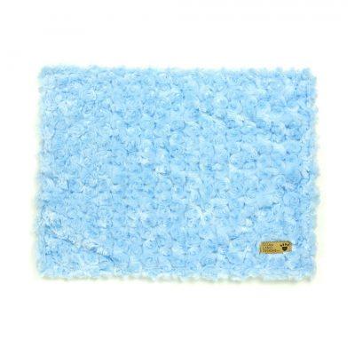 Puppy Blue Curly Sue Blanket