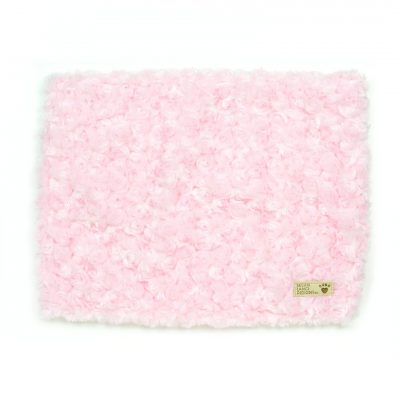 Puppy Pink Curly Sue Blanket