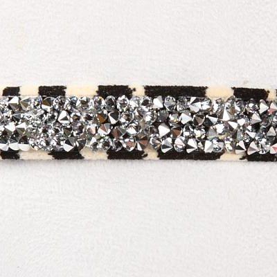 Zebra Crystal Rocks Collar