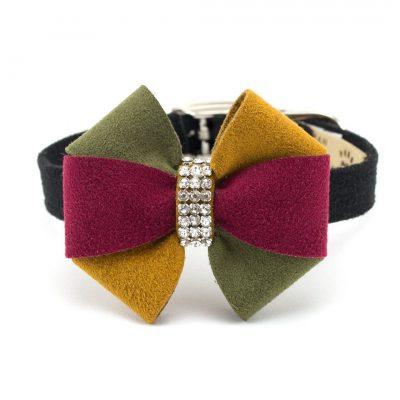 Autumn Bow Collar