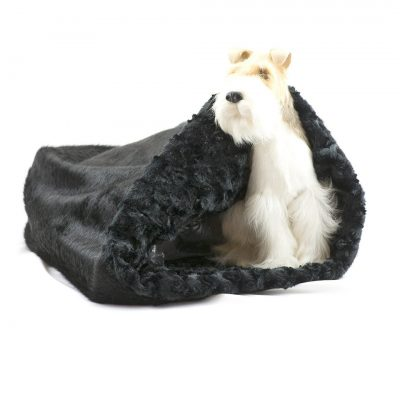 Black with Black Curly Sue Cuddle Cup