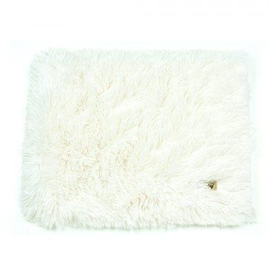 Cream Shag Blanket