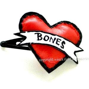 Love Bone Dog Hair Clip