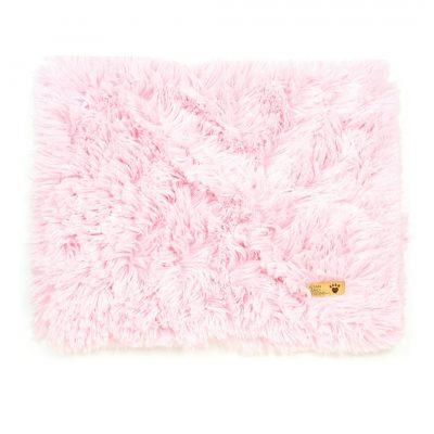 Puppy Pink Shag Blanket