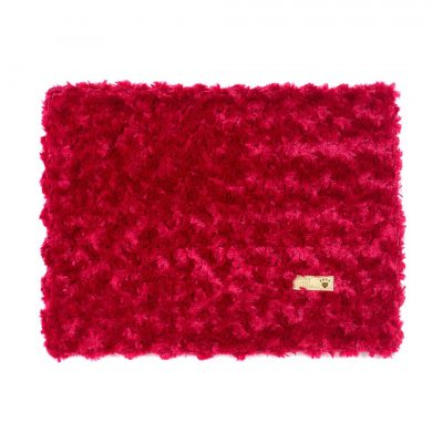 Red Curly Sue Blanket