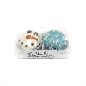 Snowy Mini Cupcake 2-pack