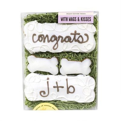 With Wags & Kisses Box - Bones (Personalized)