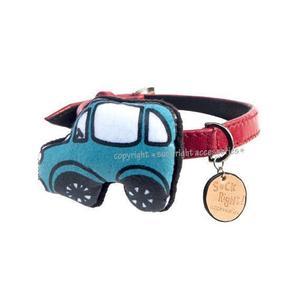 Blue Car Dog Collar
