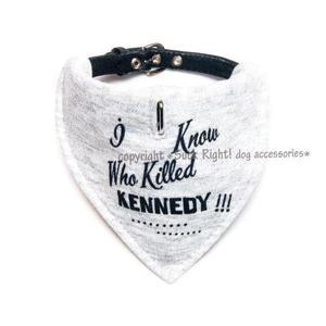 Kennedy Dog Scarf