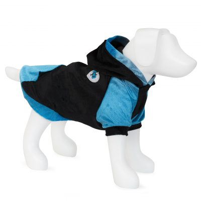 F&R for VP Pets Fleece Hoodie - Blue/Black