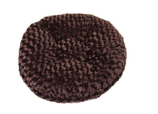 Chocolate Rosebud Bagel Bed