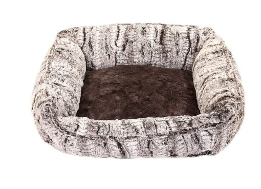 Gator with Grey Mink Lounge Bed
