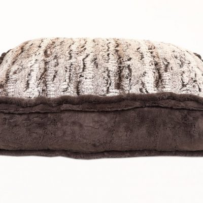 Gator with Grey Mink Rectangle Bed