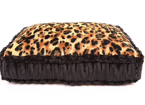 Big Cat & Black Mink Rectangle Bed