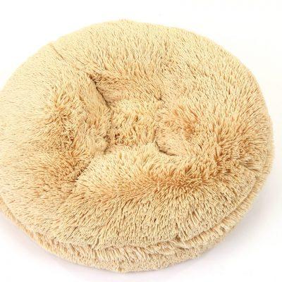 Camel Shag Bagel Bed