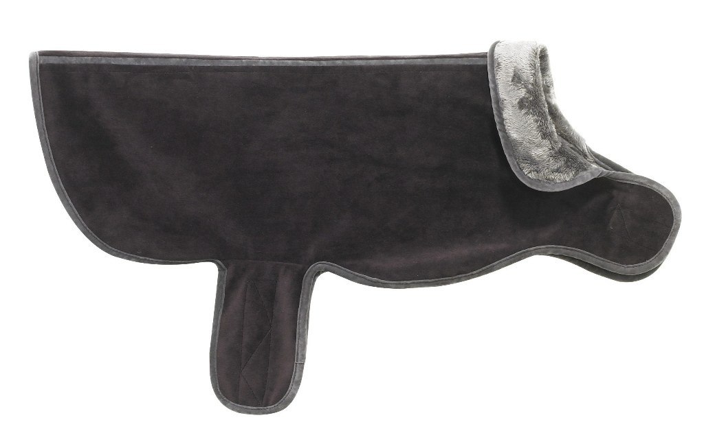 Designer Dog Coat Eggplant