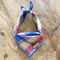 Connelly: Preppy Plaid Dog Bandana