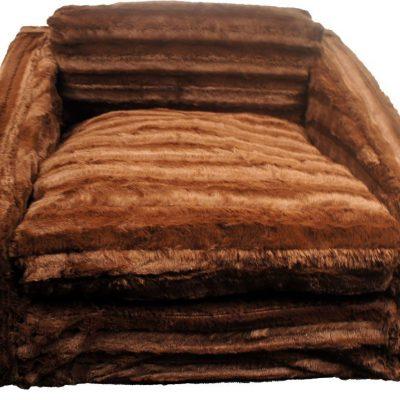 Chocolate Mink Sofa Bed