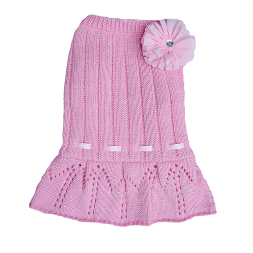 Cassidy Sweater Dress - Pink