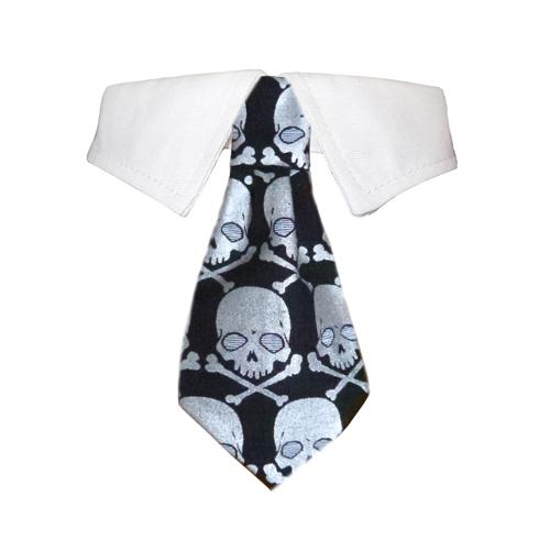 Crossbones Shirt Collar