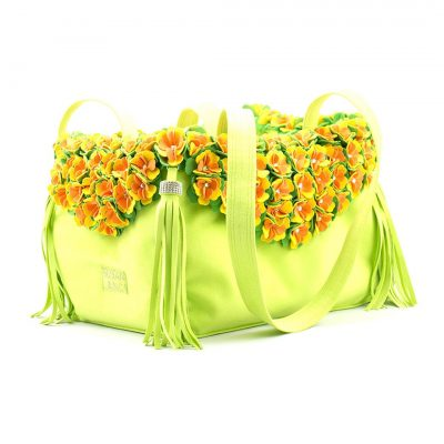 Luxury Purse Tinkie's Garden Kiwi