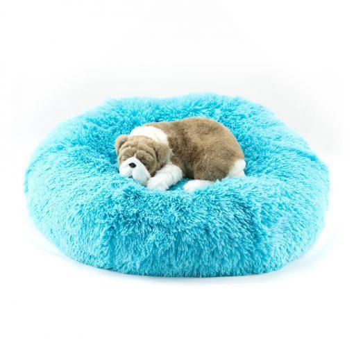 Aqua Shag Bed
