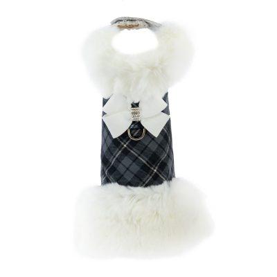 Scotty White Fox Fur Coat