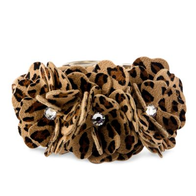 Cheetah Couture Tinkie Flowers Collar
