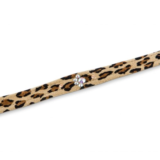 Cheetah Couture Crystal Paws Leash