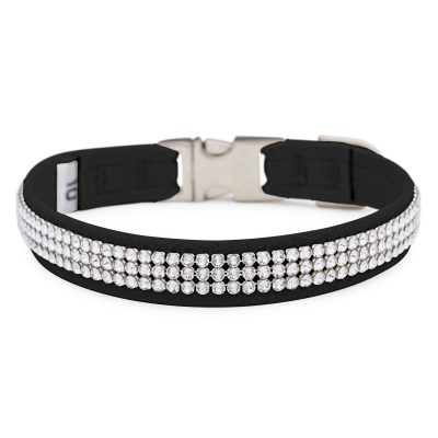 Black 3 Row Giltmore Perfect Fit Collar