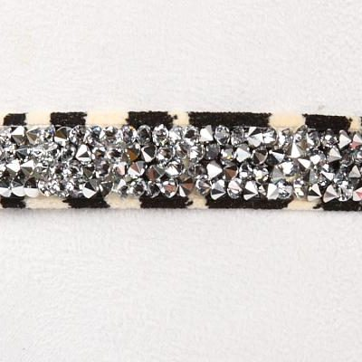 Zebra Crystal Rocks Collar