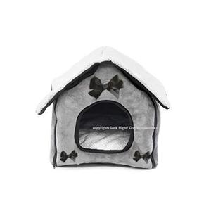 Cottage Dog House Dog Bed