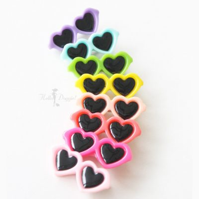 Heart Shaped Sunglasses Barrette