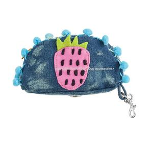 Hey Strawberry Dog Poop Bag Holder