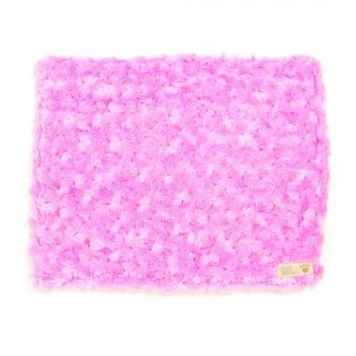 Perfect Pink  Curly Sue Blanket