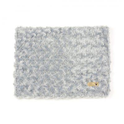 Platinum Curly Sue Blanket