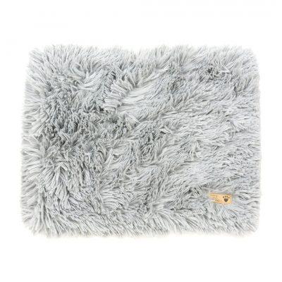 Platinum Shag Blanket