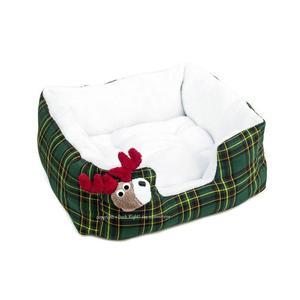 Reindeer Dog Bed