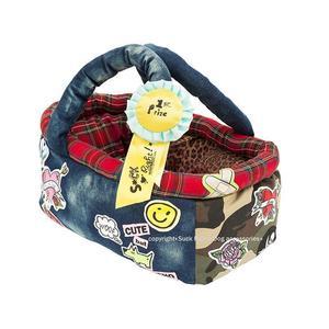 1st Prize Camouflage Jeans Bag Dog Carrier