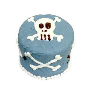 Blue Skull Baby Cake (Shelf Stable)