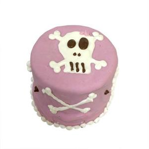 Pink Skull Baby Cake (Shelf Stable)