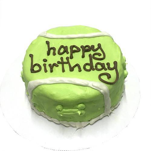 Tennis Ball Cake (Personalized) (Perishable)