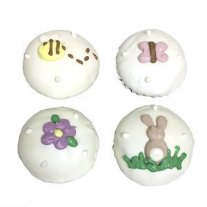 Garden Party Mini Cupcakes (Shelf Stable) case of 15