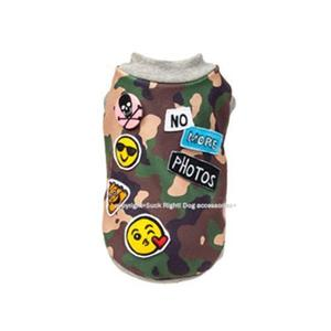Camouflage Emojis Dog Shirt