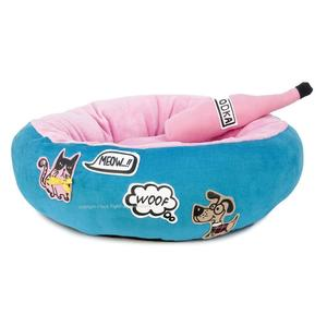 Cats And Dogs Dog Bed And Toy