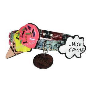 Crazy Ice Cream Dog Collar